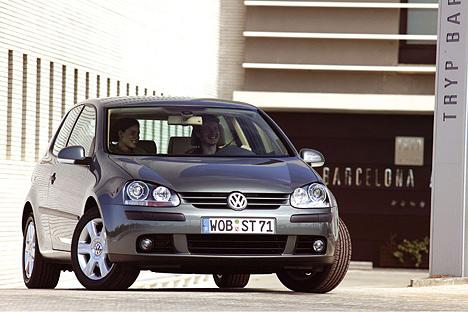 Семейный VW Golf 5