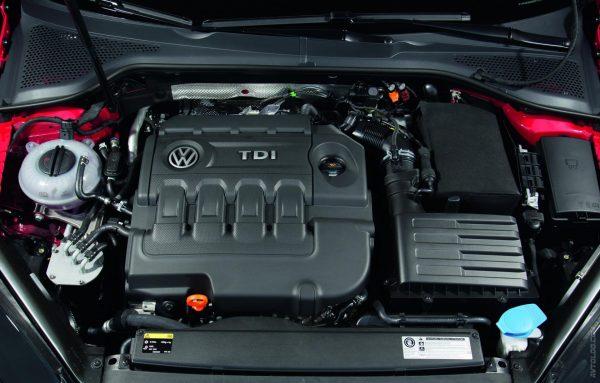 Моторный отсек Golf Diesel