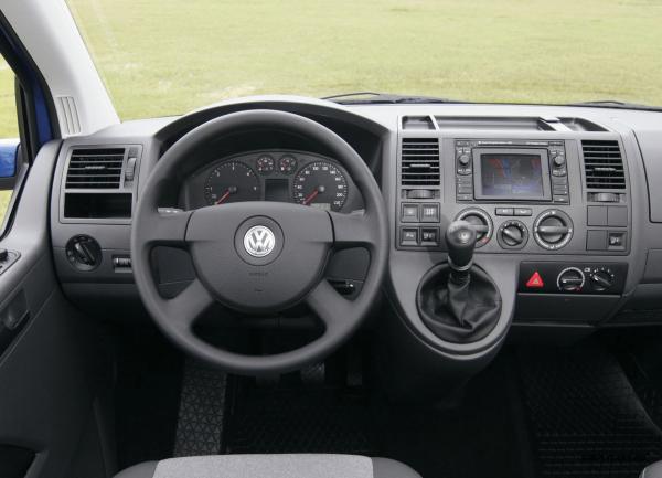 Рулевое колесо и передняя панель VW Multivan T6