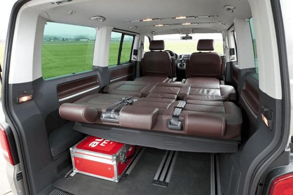 Спальные места в VW Multivan T6