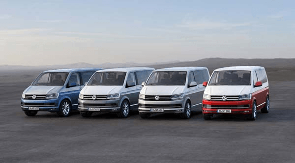 VW Multivan 2017–2018 гг