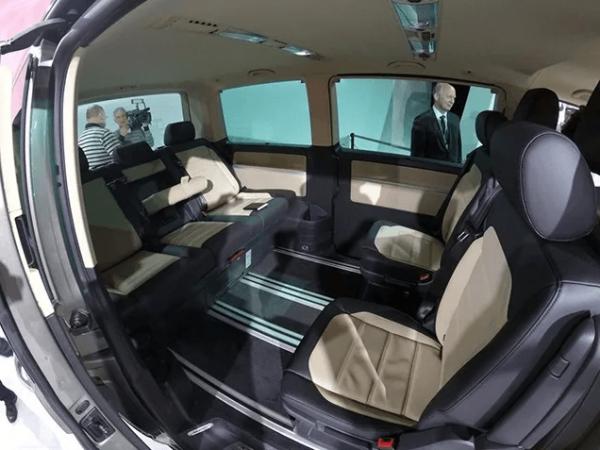 Салон нового VW Multivan T6