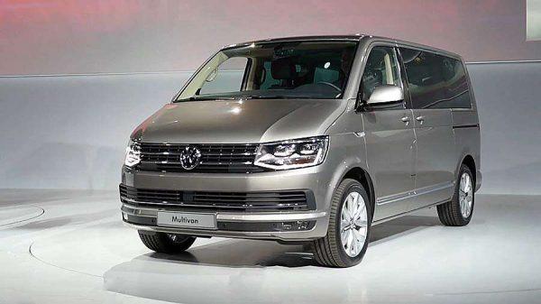 Новый VW Multivan T6 2017 года