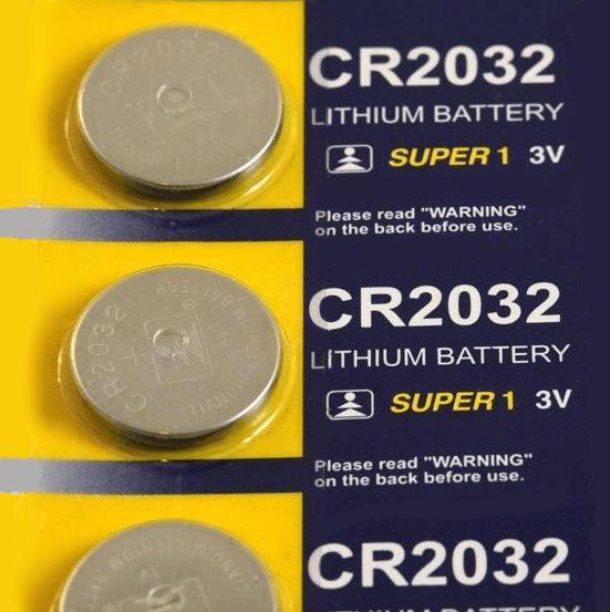 Плоские батарейки CR2032