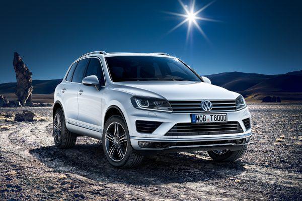 Volkswagen Touareg II рестайлинг