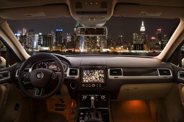 Салон Volkswagen Touareg II рестайлинг