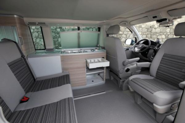 Салон VW California Comfortline