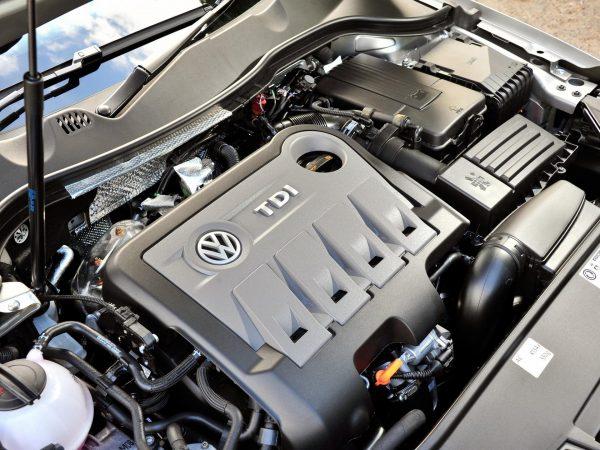 Дизельный двигатель VW Passat