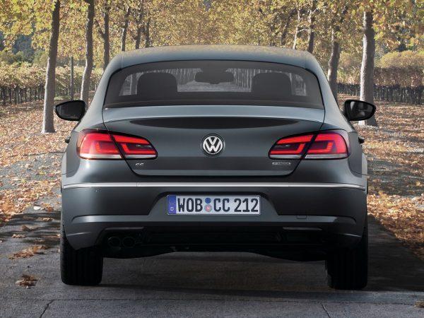 Обновлённый VW Passat СС