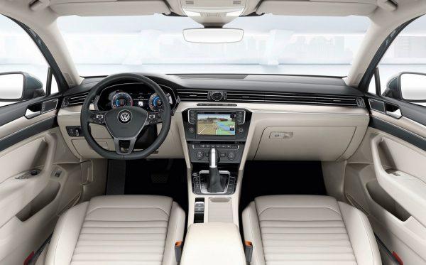 Интерьер VW Passat B8
