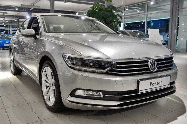 VW Passat восьмого поколения