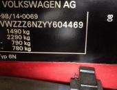 VIN-код автомобиля Volkswagen