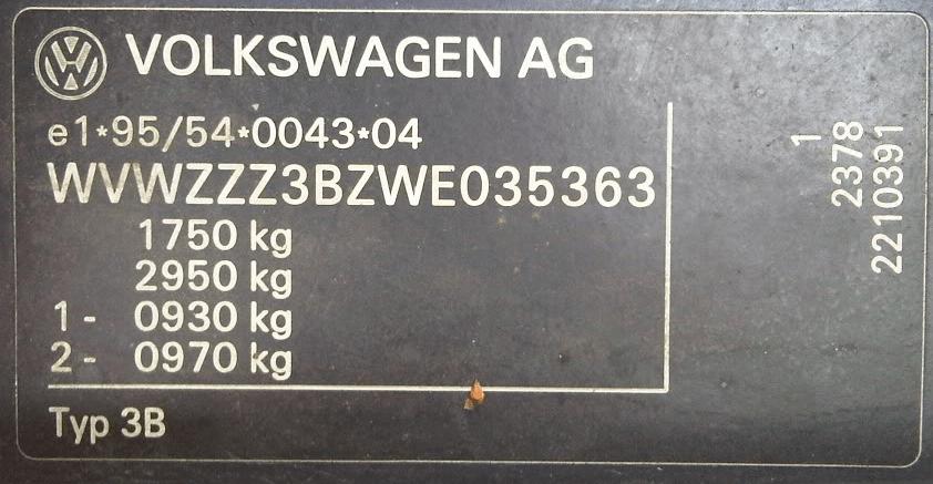 Расшифровка вин кодов фольксваген транспортер принципиальная электрическая схема конвейеров