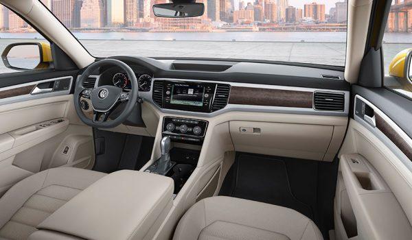 Панель приборов VW Atlas
