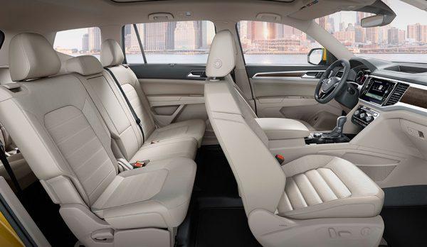 Посадочные места VW Atlas