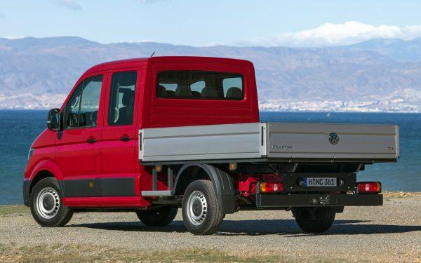 Бортовой грузовик «Крафтер»