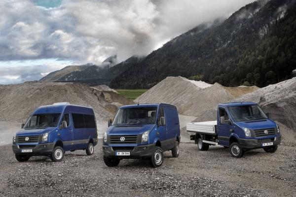 Микроавтобус, фургон и грузовик VW Crafter