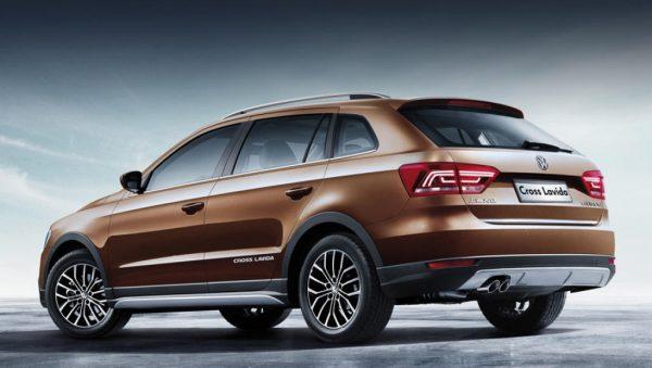 Новый VW Cross Lavida