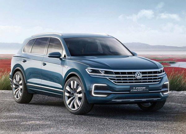 Будущий VW Touareg 2018