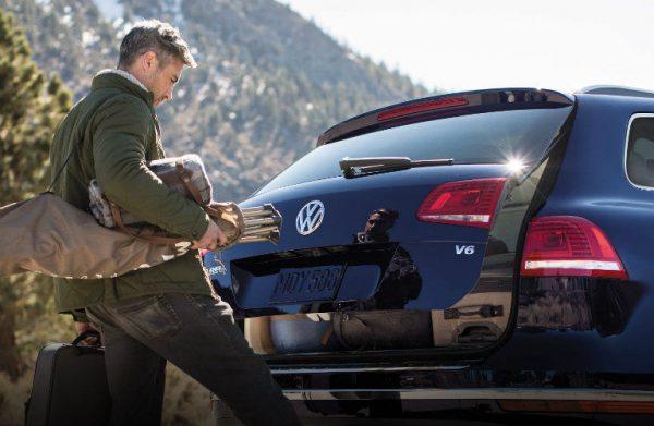 Использование системы Hands Free на VW Touareg