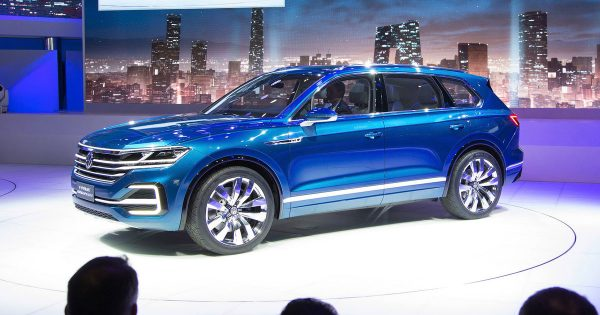 Представление VW Touareg VW T-Prime GTE