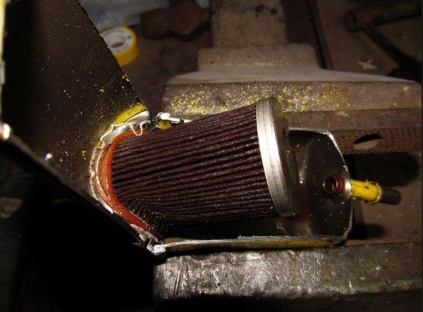 Коррозия корпуса топливного фильтра