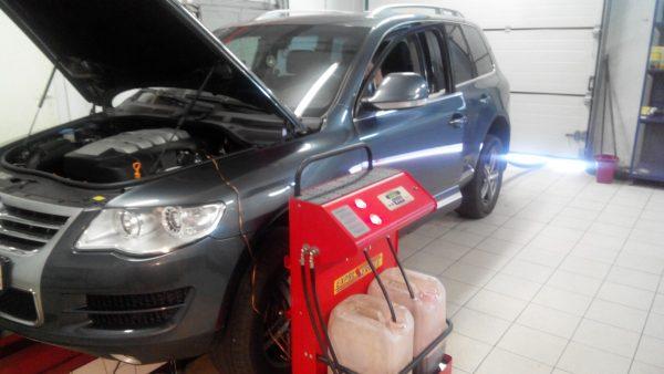 Замена масла АКПП VW Touareg