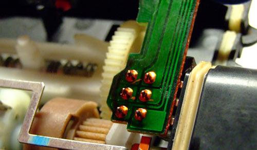 Микросхема замка