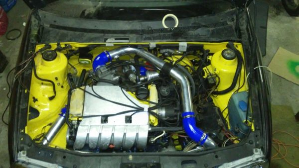 Двигатель VR6