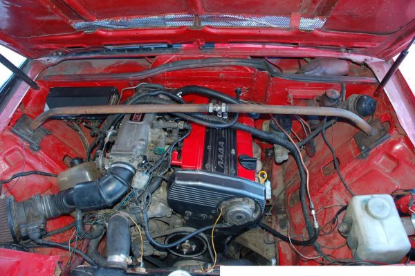 ВАЗ 2107i с двигателем от Nissan Silvia