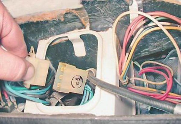 Проводка переключателя