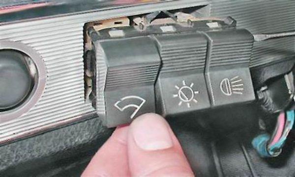 Демонтаж клавиш