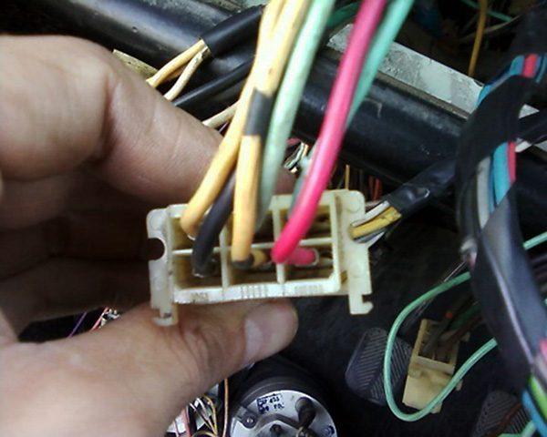 Колодка с проводами