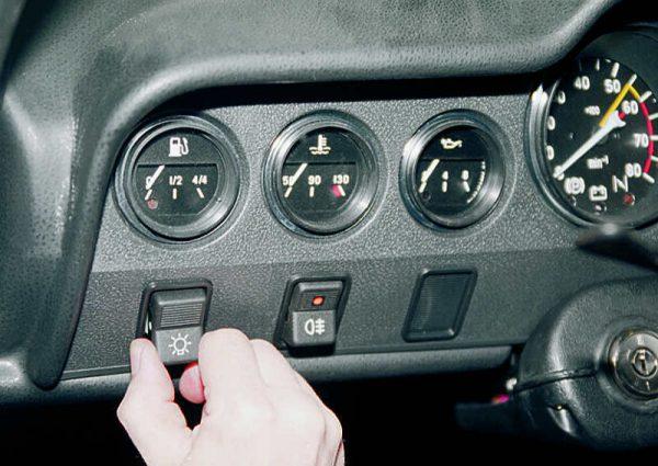 Демонтаж кнопки