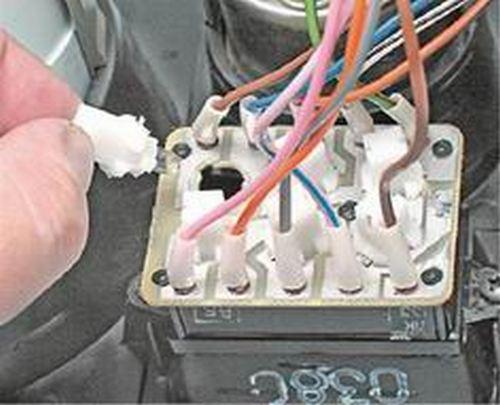 Лампочка блока сигнализаторов