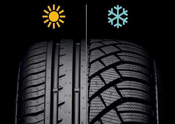 Зимние и летние шины