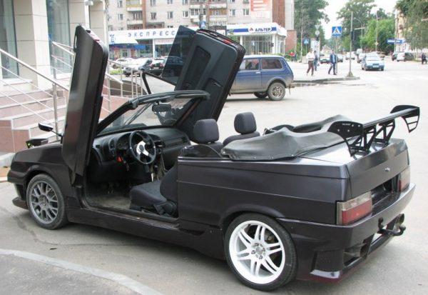 Из ВАЗ 2109 делают кабриолет, но это очень дорого и сложно