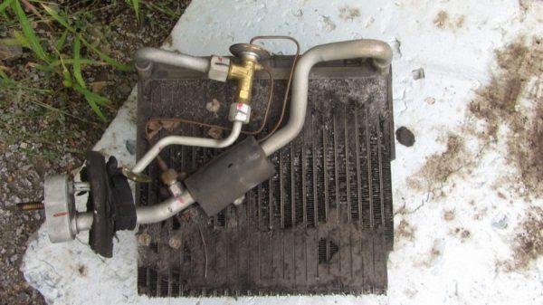 Снятый радиатор