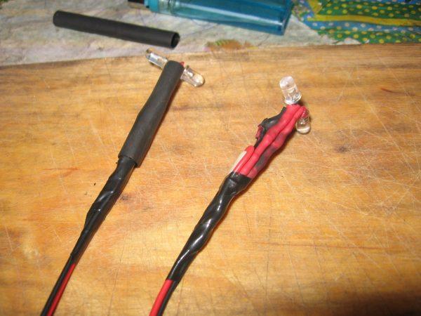 Диоды с соединёнными проводами бортовой системы