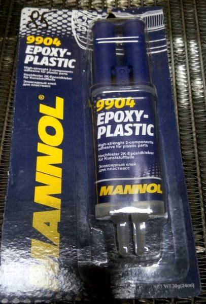 Клей Epoxy Plastic