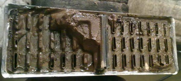 Засорившийся радиатор