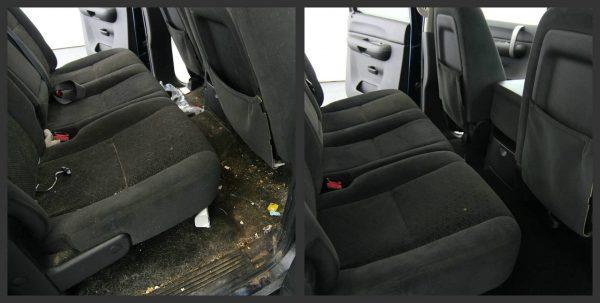 Как самому почистить салон автомобиля