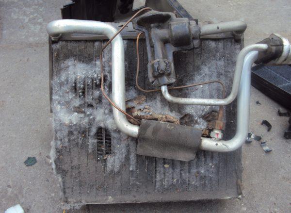 Загрязнение кондиционера