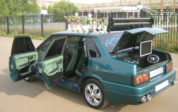 Тюнинг багажника ВАЗ 21099