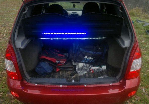 Подсветка багажика