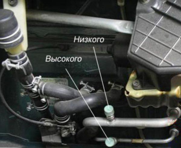 Трубопроводы кондиционера